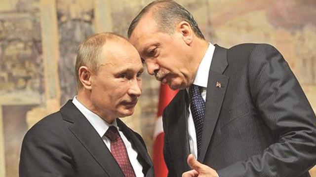 recep tayyip erdoğan - putin